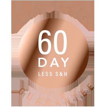 image seal of 60 day money back guarantee