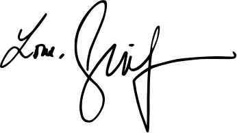 image of JLo's signature