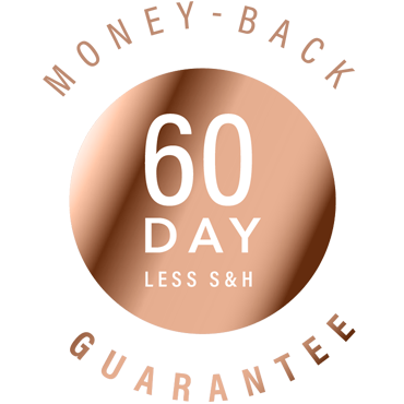 image seal of 60 day money back guarantee